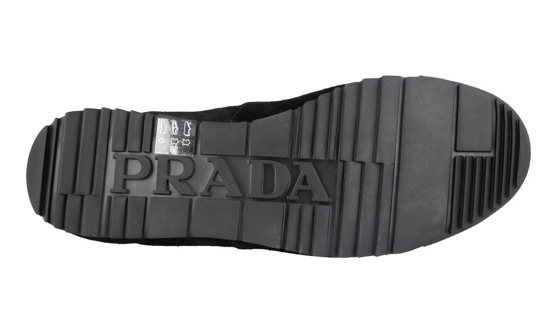 SCARPE SCARPE SCARPE PRADA LUSSO 4E3230 NERO NUOVE 9,5 43,5 44 de8389