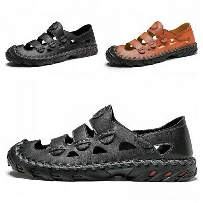 Mens Loafers Walking Slip On Pumps Summer Driving Leisure Outdoor Flat Sandals