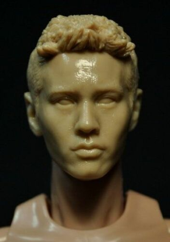 DIY 1:6 Kumik Accessory Action Figure Repaint Boy Male Head Colorless Yuanbiao