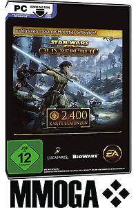 2400 SWTOR Kartellmünzen Key - Star Wars: The Old Republic Cartel Coins
