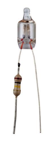 10 x Mini-Neon-Glimmlampe Klar L-2108