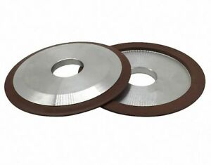 "100 125 150mm//4/""5/""6/"" Diamond Grinding Wheel Dish Type Select OD Grit CAPT2011"