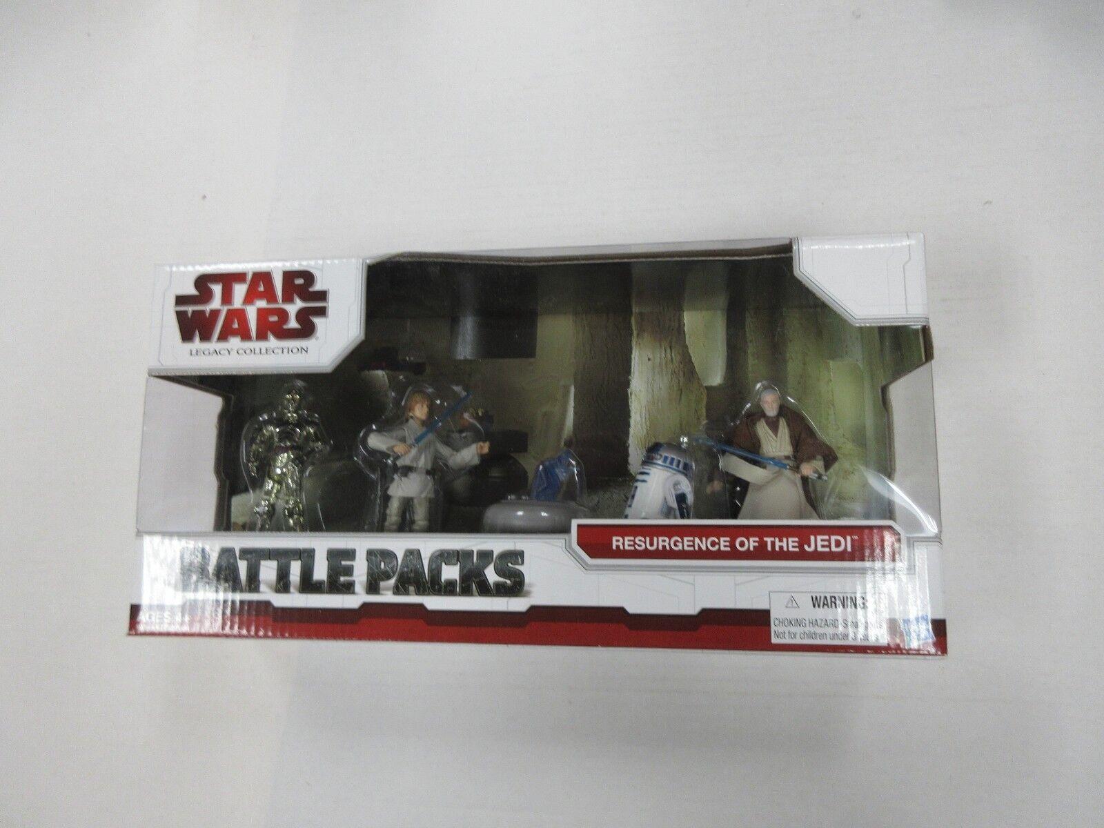 ventas en linea HASBRO resurgimiento de los Jedi de Star Wars Wars Wars 4 Figura Set Nuevo en Paquete Sellado  diseño simple y generoso
