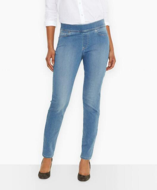 7f66bde09280ed New Levis Womens Perfectly Slimming Pull-On Stretch Leggings Denim Jeans  12S /31