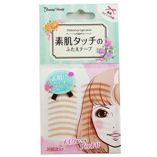 ☀Beauty World Natural Eye Tape Bare skin Touch Change Double Eyelid ENT350 F/S
