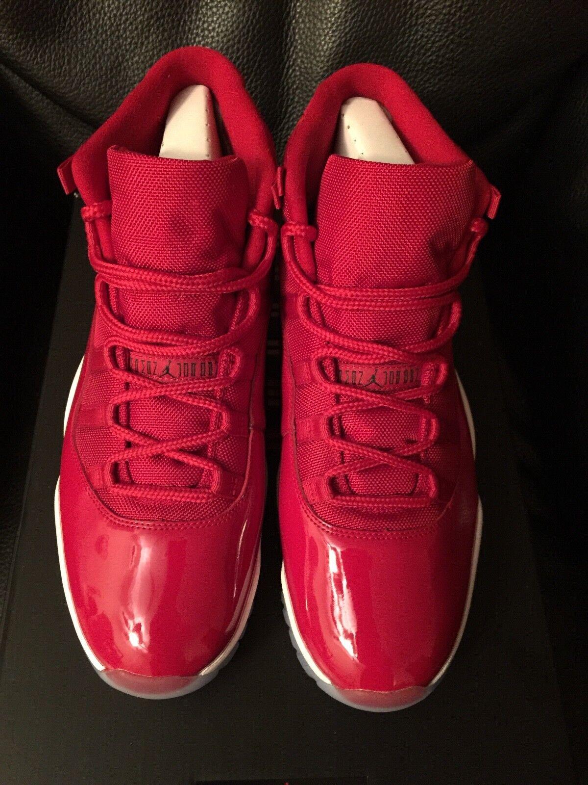 NEW Air Jordan 11 Retro XI Red Mens Size 13