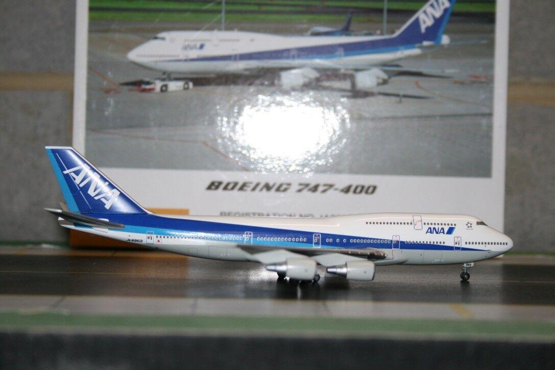 Hogan/ANA Precision 1:400 ANA All Nippon Airways Boeing 747-400 JA8963  NH40014