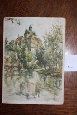 Postkarte Ansichtskarte Sachsen Sächsische Burgen Und Schlosser Krebssteine