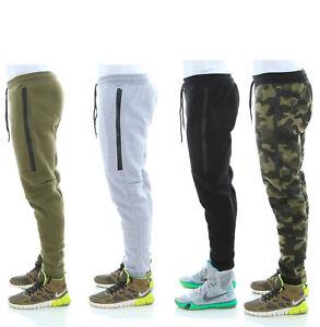 WT02-Men-039-s-Fleece-Jogger-Sweatpants-With-Bonded-Zippers