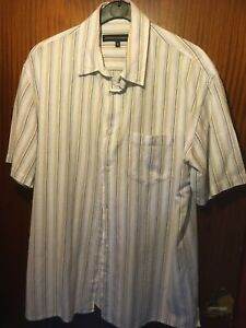 FRENCH-CONNECTION-MENS-LONG-SLEEVE-SHIRT-SIZE-M