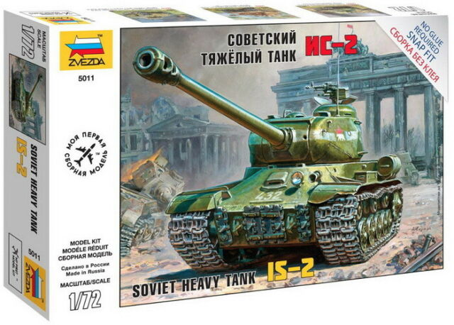 TRUMPETER® 07152 Soviet T-10 Heavy Tank in 1:72