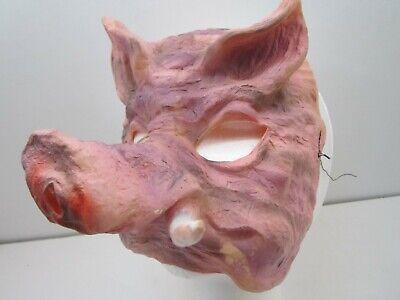 Antique Gauze Pig Halloween Mask