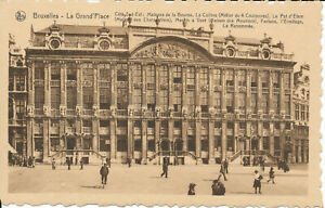 PC37842 Bruxelles. La Grand Place. Cote Sud Est. Maisons de la Bourse. La Collin