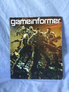 GameInformer Magazine Gears Of War 3