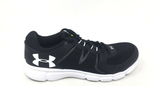 official photos bfcfc 0c012 NEW! Under Armour Men's Thrill 2 Running Shoe 1273946 Black/White 99RS mm