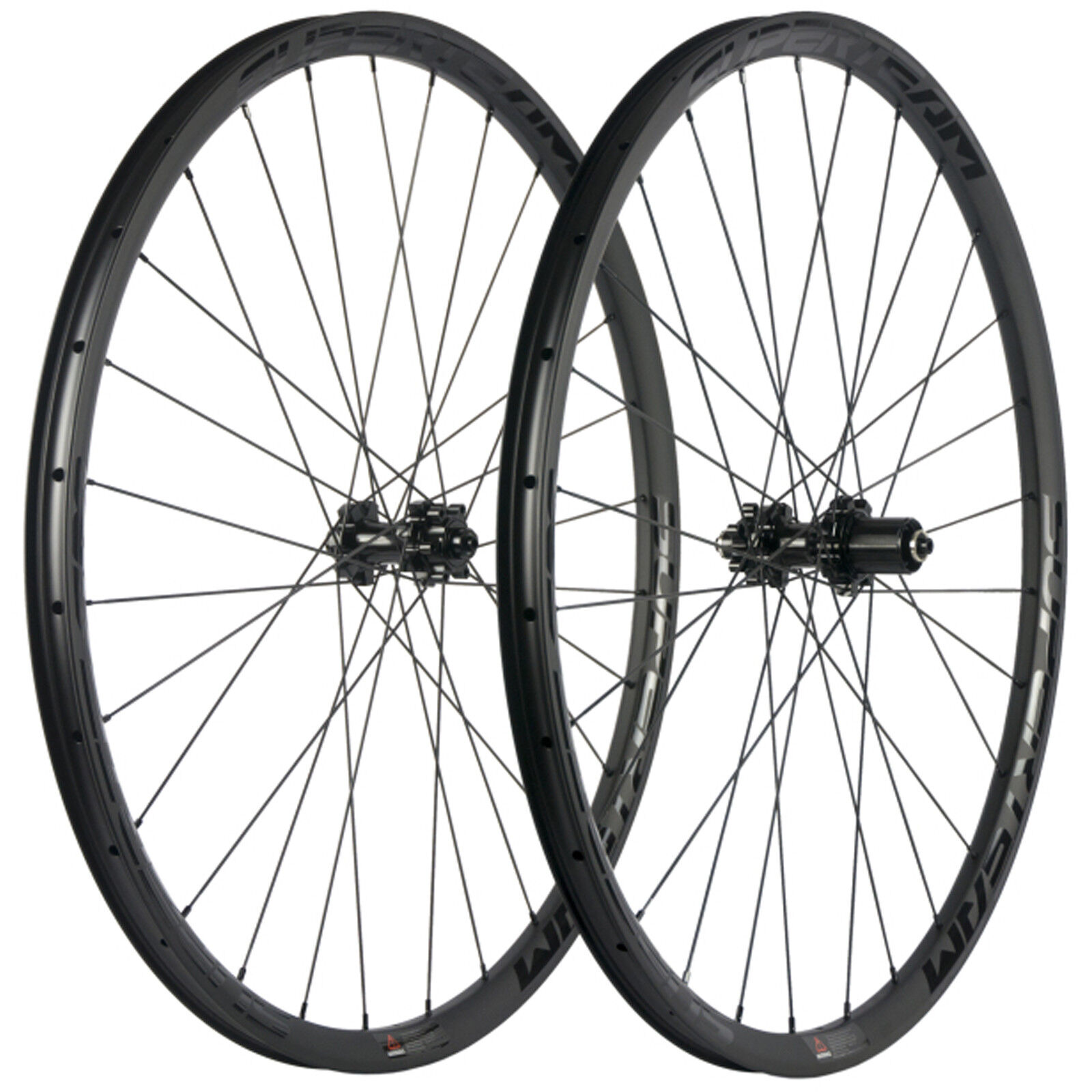 Superteam 29er 30mm Wide  25mm Deep Mountain Carbon Wheelset Tubeless MTB UD Rims  healthy