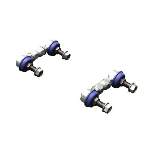 Hardrace universel réglable stabilisateur Liens 10 mm Rod Ends 81-91 mm