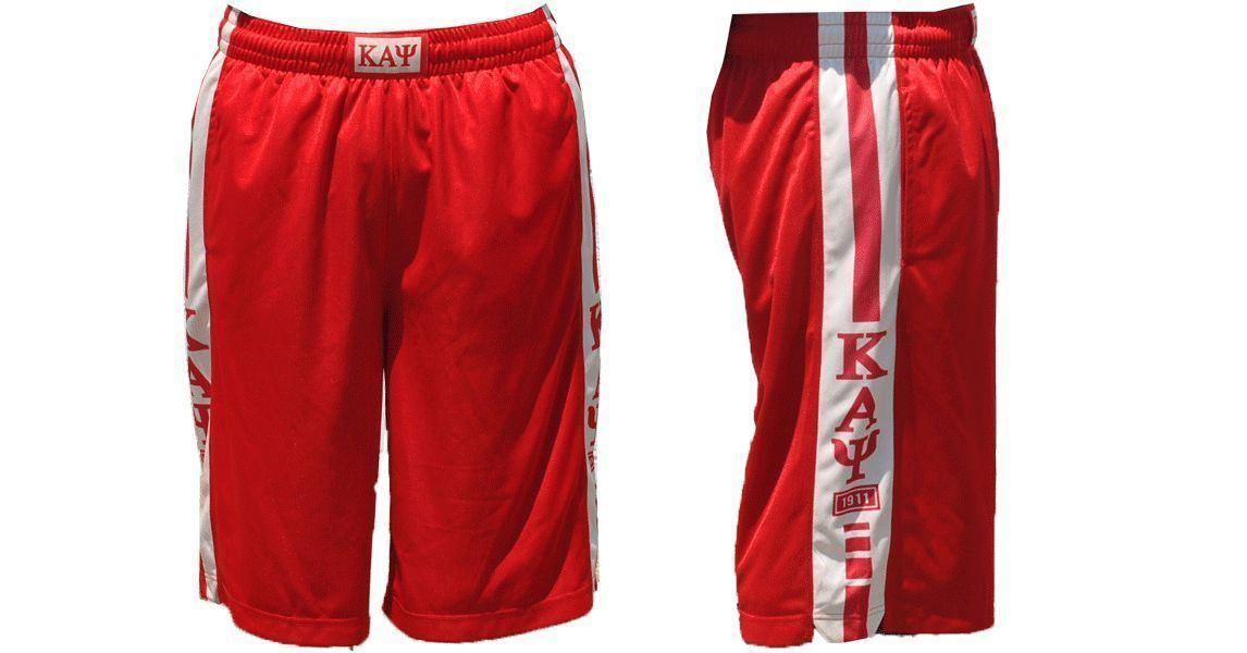 KAPPA ALPHA PSI Shorts Greek Fraternity Basketball Gym Casual Shorts 1911 nupe