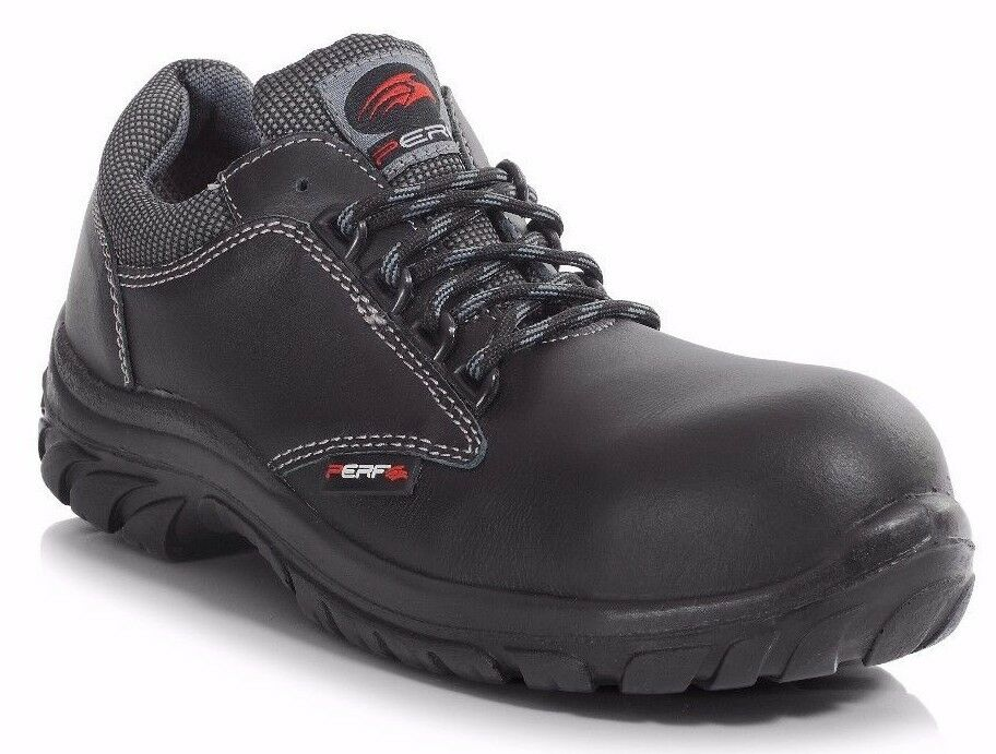 Perf (PB100) S3 SRC Non-Metal Safety Work Trainer shoes Fully Composite Toe Cap
