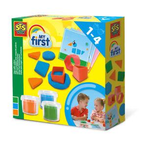 Ses-Creative-Infantil-mi-primer-objetivo-pasta-con-Cortadores-Set-3-ollas-Unisex