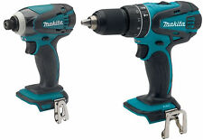 Makita XPH01 18V Cordless 1/2 Hammer Drill and XDT04 1/4 Impact Fits BL1830 NEW