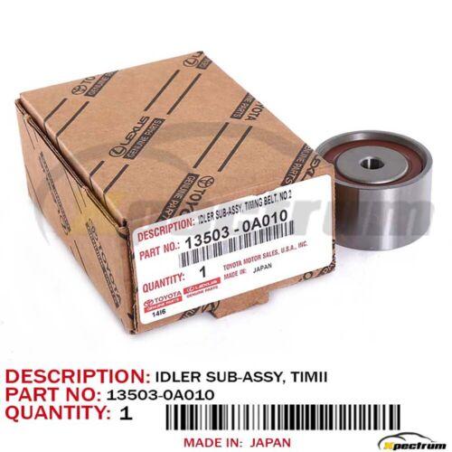 TOYOTA OEM IDLER PULLEY FOR AVALON HIGHLANDER SIENNA SOLARA 13503-0A010