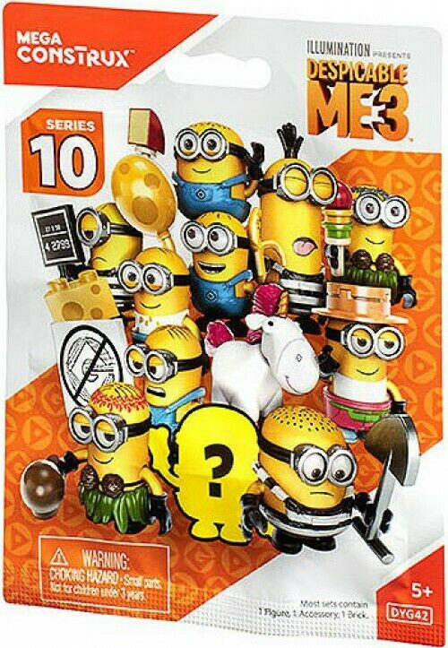 Despicable Me Mega Construx Series 10 Mystery Minis Blind Box