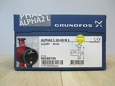 Grundfos ALPHA 2  L 20-40 N1  1x230V Brauchwasserpumpe NIROSTA  KOST-EX P15/198