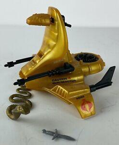 Vintage-Cobra-Air-Chariot-Vehicle-Hasbro-1986-GI-Joe-ARAH-Serpentor-Emperor
