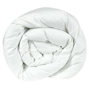 Hollowfibre-Duvet-Quilt-Single-Double-King-10-5-13-5-15-tog-Bedding