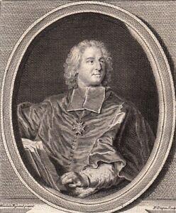 Portrait-XVIIIe-Melchior-De-Polignac-Cardinal-Diplomate-Prelat-Cellemare