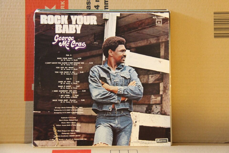 LP, George McCrae, Rock Your Baby