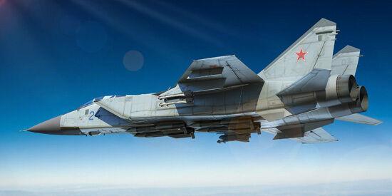 MiG-31 Foxhound 1 72 Trumpeter