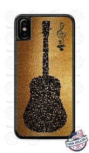 Vintage-Guitar-Musical-Notes-Phone-Case-Cover-For-iPhone-Samsung-LG-Google