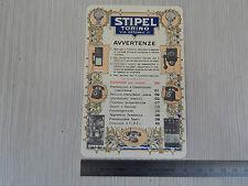 TELEFONO STIPEL TAGLIANDO ORIGINALE 1930 CELLOGRAF MILANO EPOCA VINTAGE
