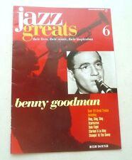 BENNY GOODMAN  JAZZ GREATS THEIR LIVES THEIR MUSIC THEIR INSPIRATION