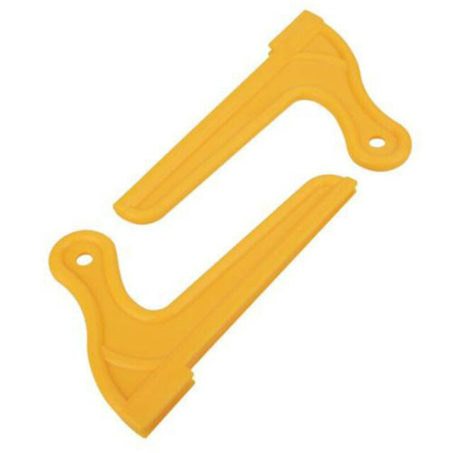 2pcs Yellow Wood Saw Push Stick For Carpentry Table Working Blade Router J6E7