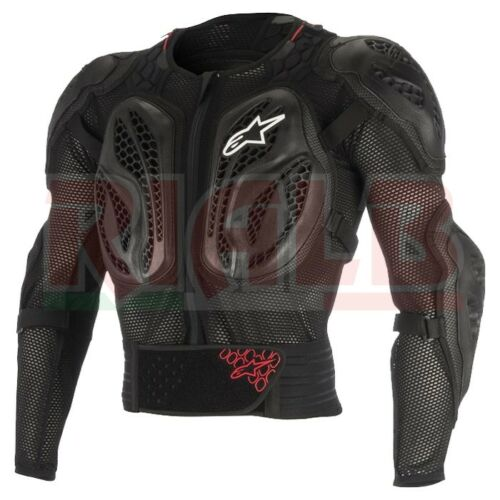 Complete Harness Alpinestars BIONIC TECH Action black//red