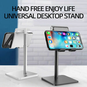 Adjustable Desktop Stand Desk Holder Mount Cradle for Cell Phone Tablet Switch