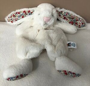 Jellycat-Cream-Blossom-Boubou-Bunny-Rabbit-Soother-Soft-Baby-Toy-Comforter-Plush