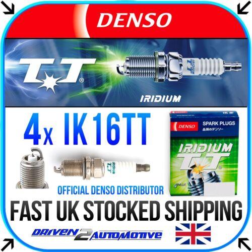 4x DENSO IK16TT IRIDIUM TT SPARK PLUGS FOR MITSUBISHI LANCER 1.8 Bifuel 02.10
