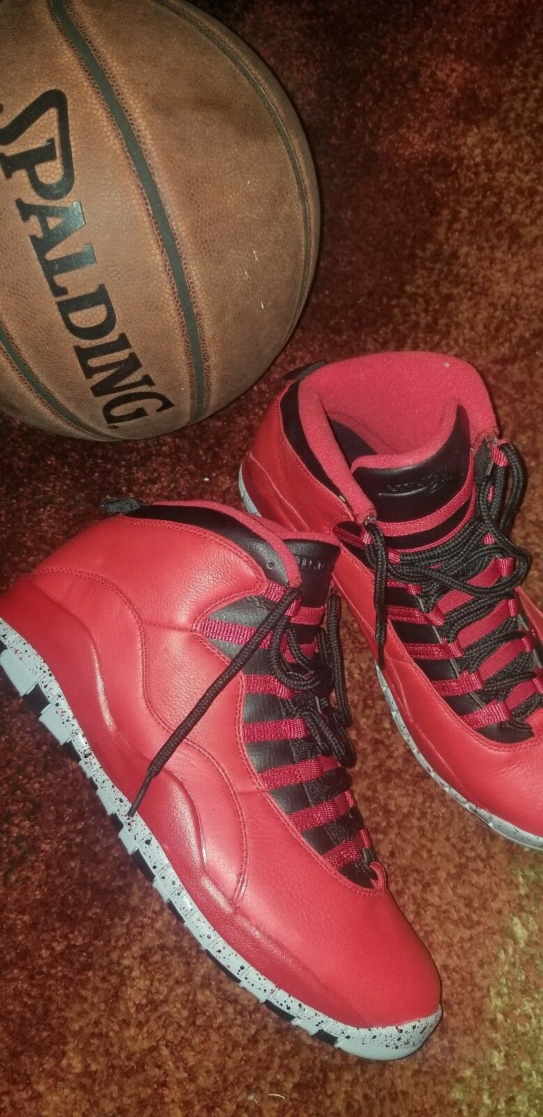 Autentico nike air jordan 10 '30 - 12