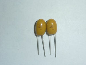 100pcs 25V 1uF 25V Radial DIP Tantalum Capacitor
