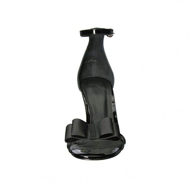 Joie    299.52 Akane Leather Sandals nero donna Heels Dimensione 37.5 e3ccc9