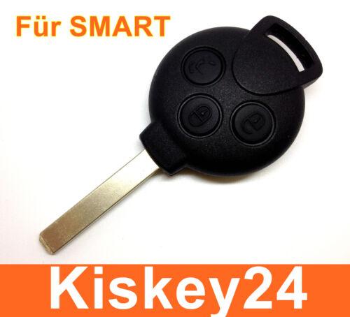 Ersatz Schlüssel Fernbedienung Gehäuse für Smart 451 ForTwo ForFour Roadstar