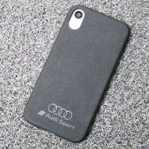 Details about Audi Sport Alcantara Cell Phone Protection Slim Case and Full Cover Anti-knock