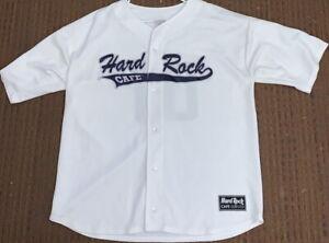 Hard-Rock-Cafe-NEW-YORK-Baseball-JERSEY-100-Polyester-Shirt-Men-039-s-Size-XXL-2X