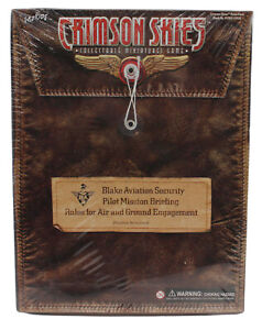 Crimson Skies Collectable Miniatures Game Rules Pack New & Sealed 2003