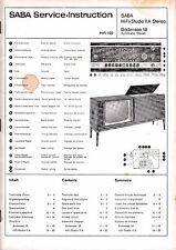 Service Manual-instrucciones para Saba HiFi-Studio II a estéreo, Constanza 18