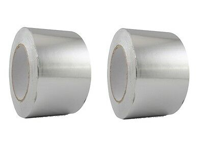 "2 Rolls HVAC Aluminum Foil Tape 3/"" X 150 ft each 1.7 MIL Tape Technologies"